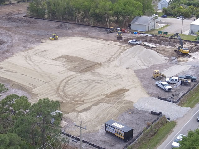 Cape coral 11 site construction
