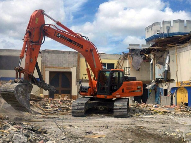 honc pipe commercial demolition naples